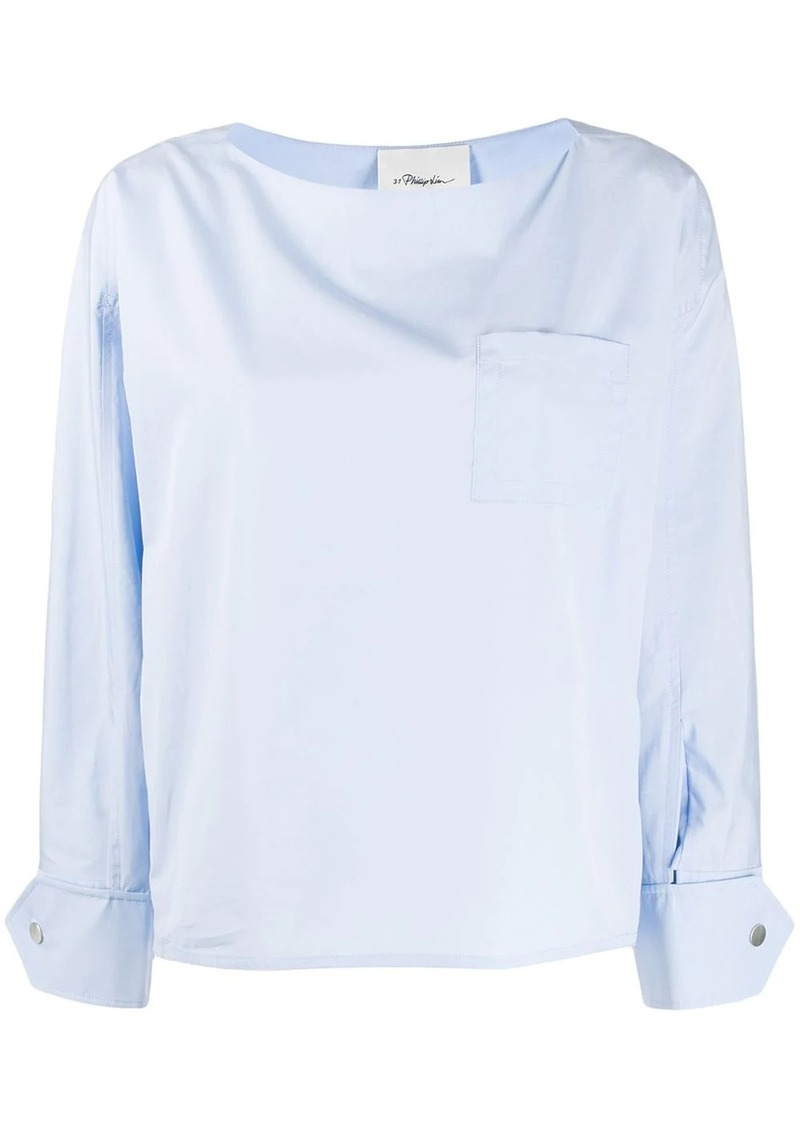 3.1 Phillip Lim chest pocket blouse