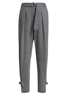 3.1 Phillip Lim Cinched Buckle Detail Trousers