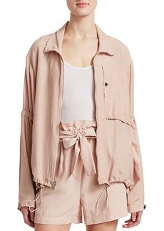 3.1 Phillip Lim Cinched Sleeve Anorak Jacket