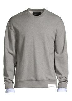 3.1 Phillip Lim Classic Crewneck Cuff Sweatshirt