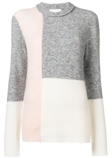 3.1 Phillip Lim colour-block fitted sweater