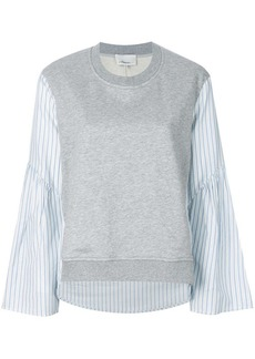 3.1 Phillip Lim contrast-sleeve sweater