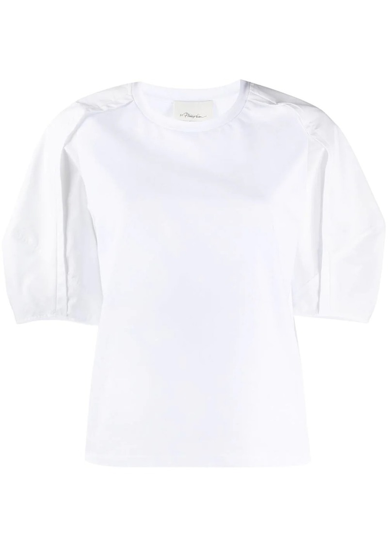3.1 Phillip Lim contrast sleeve top