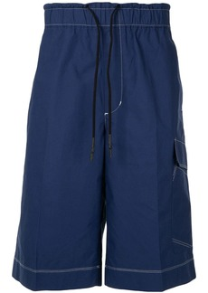 3.1 Phillip Lim contrast stitch shorts