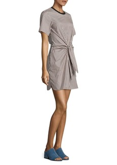 3.1 Phillip Lim Cotton And Silk Tie-Front Dress