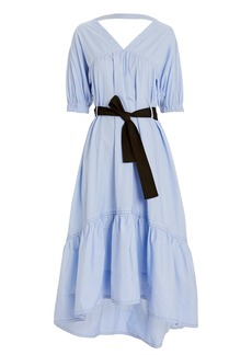 3.1 Phillip Lim Cotton Poplin A-Line Dress