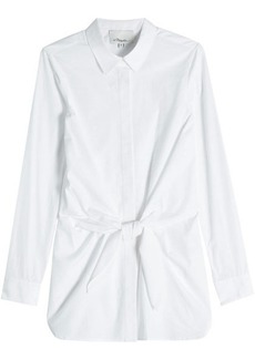 3.1 Phillip Lim Cotton Shirt with Knot Detail