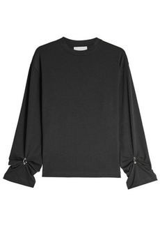 3.1 Phillip Lim Cotton Top with Embellished Cuffs