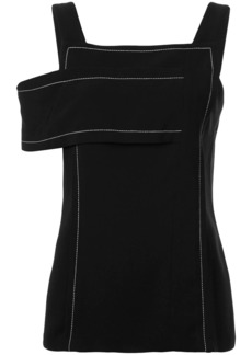 3.1 Phillip Lim cold-shoulder tiered top
