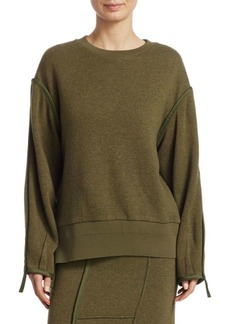 3.1 Phillip Lim Crewneck Military Sweater