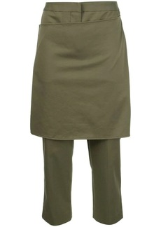 3.1 Phillip Lim cropped apron trousers