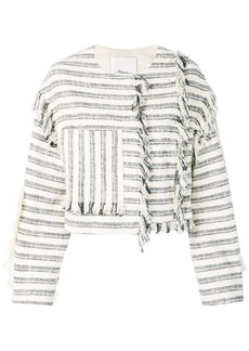 3.1 Phillip Lim Cropped Fringe Jacket