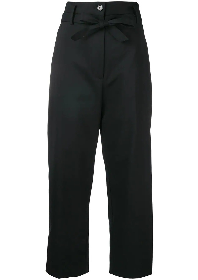 3.1 Phillip Lim Cropped Paper Bag-Waist Pant