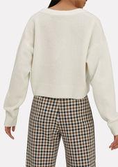 3.1 Phillip Lim Lofty V-Neck Ivory Sweater