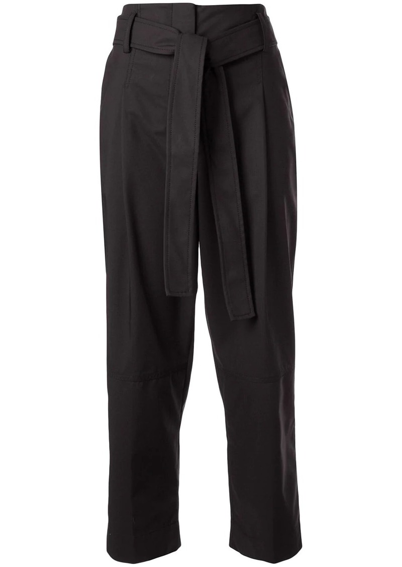 3.1 Phillip Lim cropped tie waist trousers