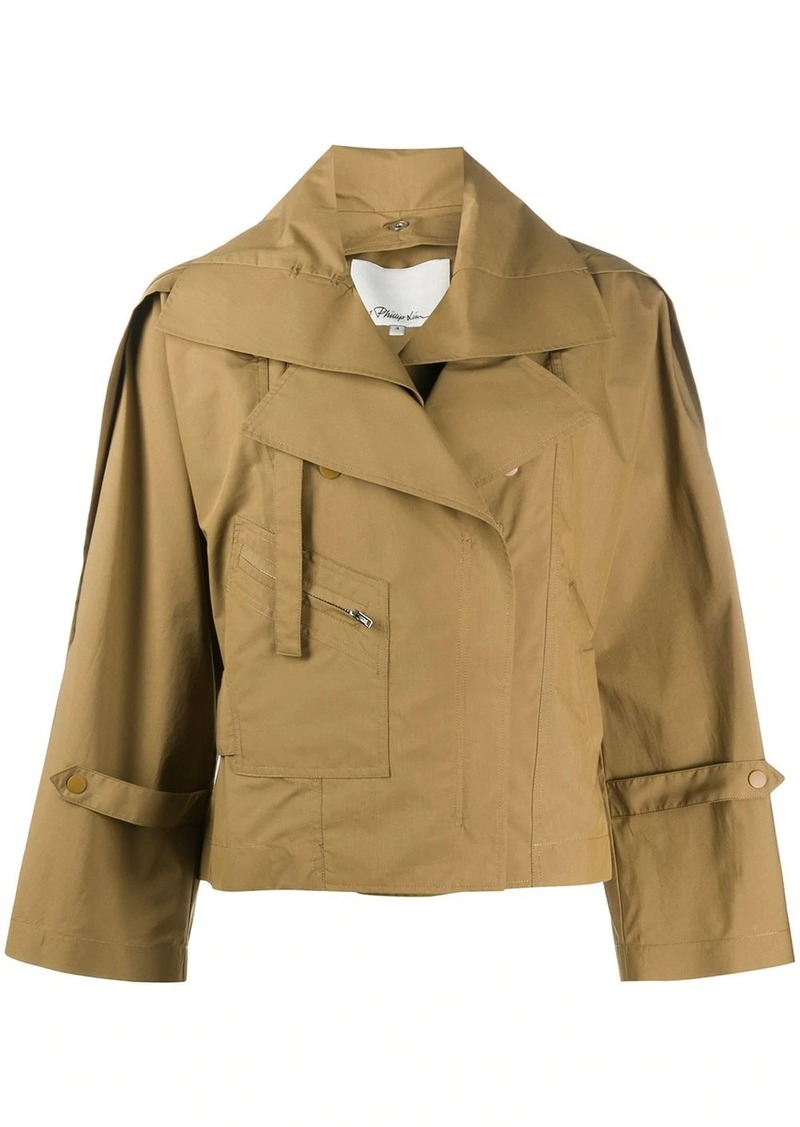 3.1 Phillip Lim cropped trench coat
