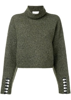 3.1 Phillip Lim cropped turtleneck pullover