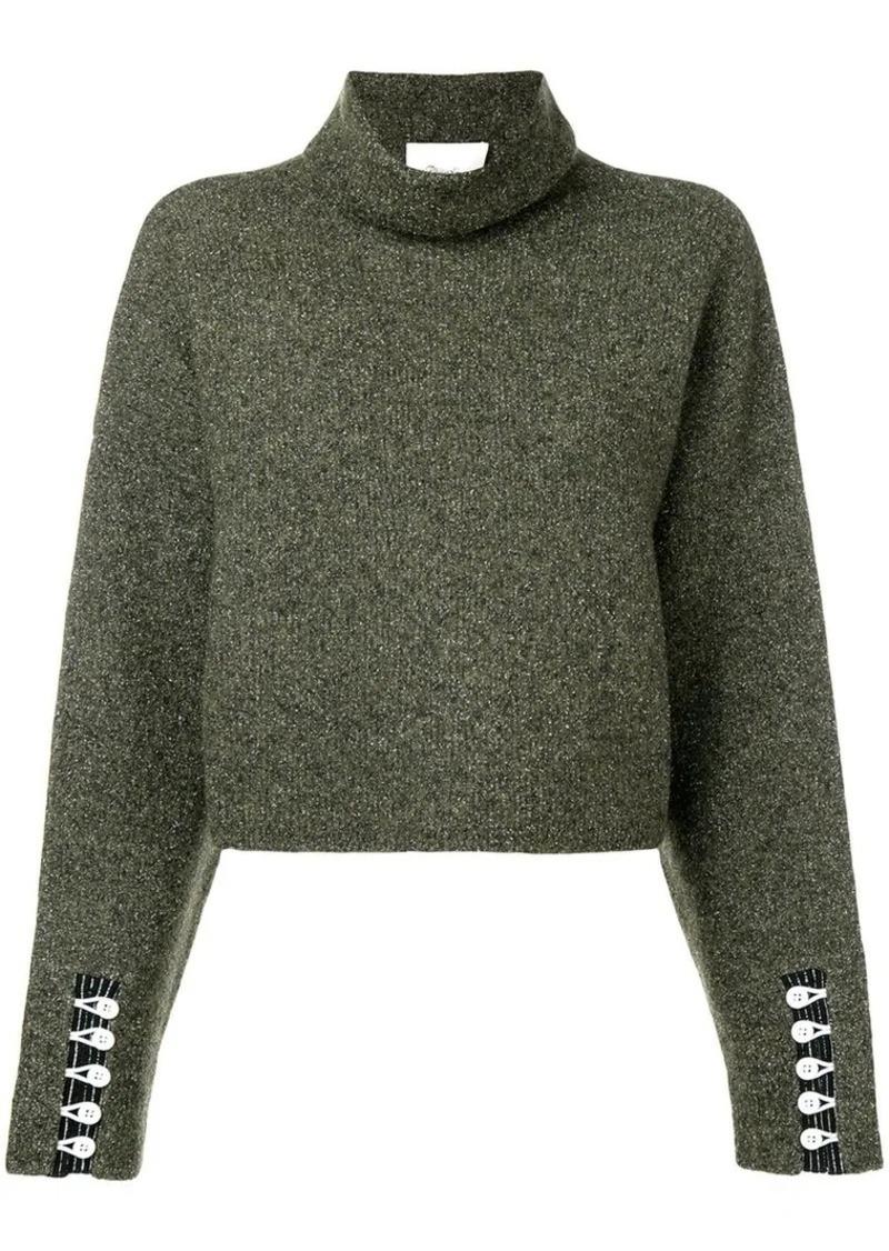 3.1 Phillip Lim cropped turtleneck pullover