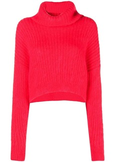 3.1 Phillip Lim Cropped Turtleneck Sweater