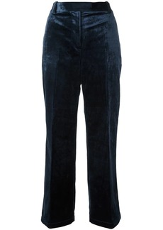 3.1 Phillip Lim cropped velvet trousers