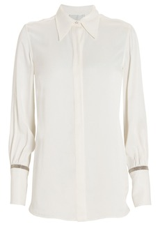 3.1 Phillip Lim Crystal-Embellished Button Down Shirt
