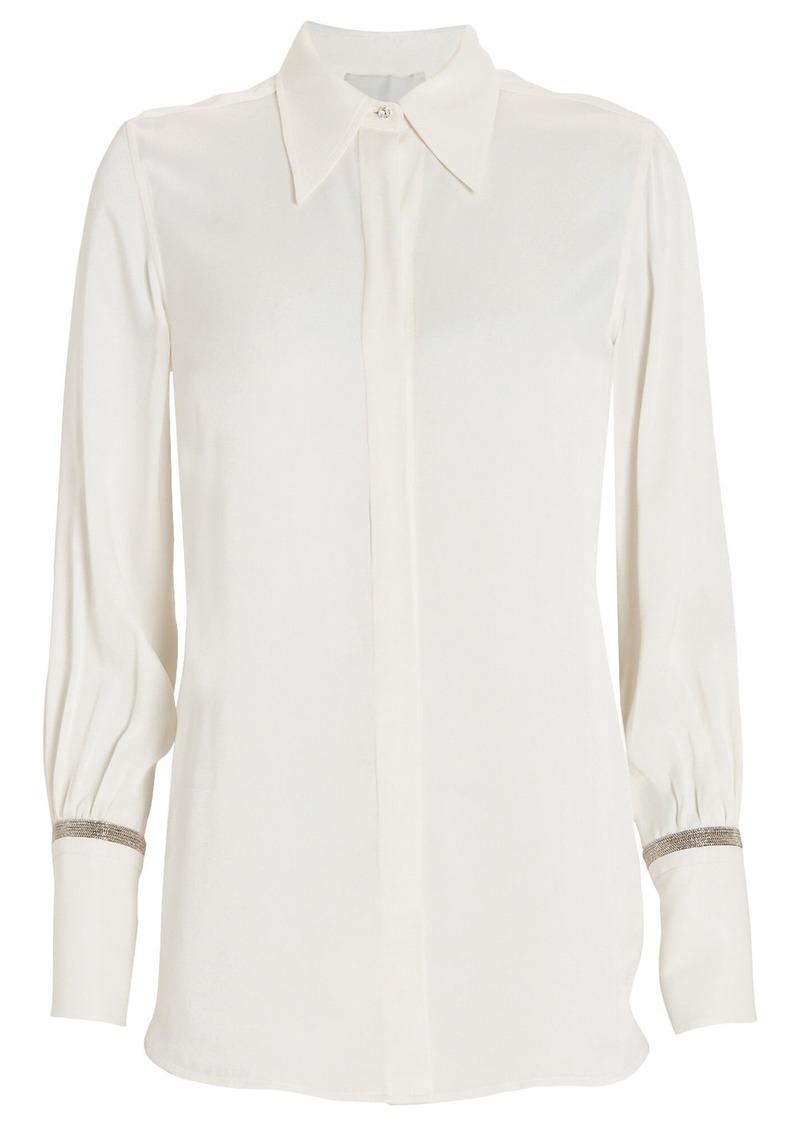 3.1 Phillip Lim Crystal-Embellished Button Down Shirt