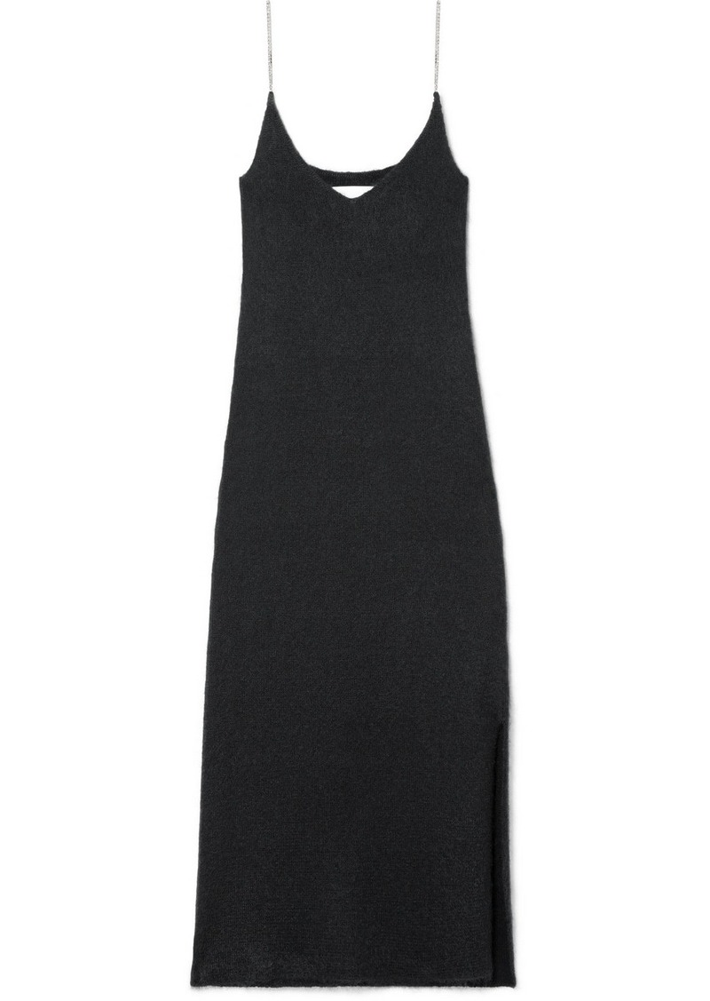 3.1 Phillip Lim Crystal-embellished Knitted Midi Dress
