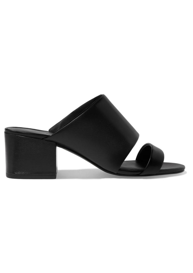 b71048002f3b08 3.1 Phillip Lim Cube cutout leather mules | Shoes
