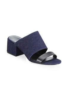 3.1 Phillip Lim Cube Double Strap Sandals