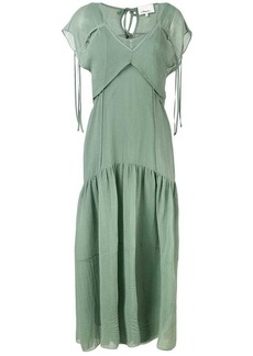 3.1 Phillip Lim Cutout textured silk dress