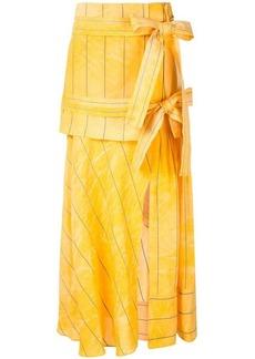 3.1 Phillip Lim deconstructed midi skirt