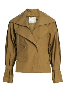 3.1 Phillip Lim Detachable Collar Safari Jacket