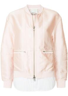 3.1 Phillip Lim double layer bomber jacket