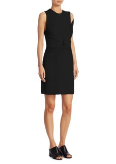 3.1 Phillip Lim Draped Rib Twist Tank Dress