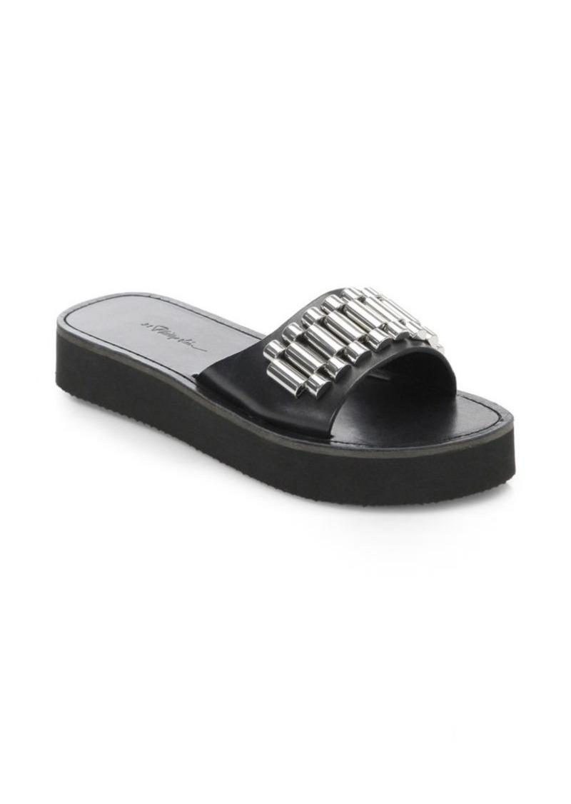 3.1 Phillip Lim Eva Leather Slides