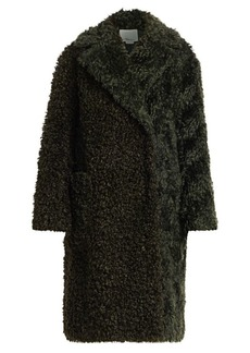 3.1 Phillip Lim Faux Shearling Mohair Coat