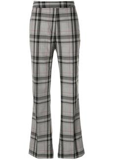 3.1 Phillip Lim flared plaid trousers