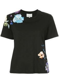 3.1 Phillip Lim floral appliqué T-shirt