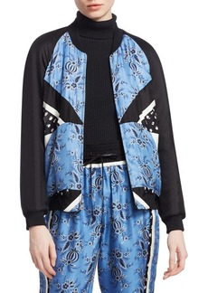 3.1 Phillip Lim Floral Patchwork Jacket