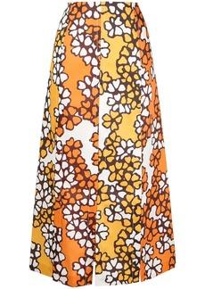 3.1 Phillip Lim floral print skirt