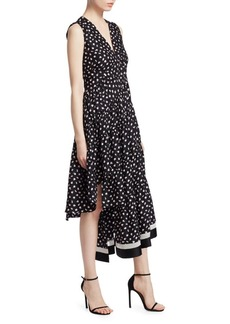 3.1 Phillip Lim Floral V-Neck Dress