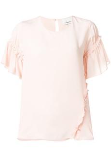 3.1 Phillip Lim frill-sleeve T-shirt