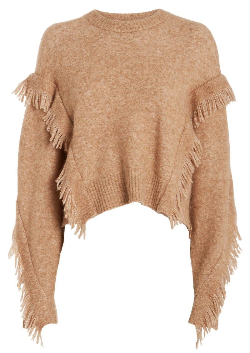 3.1 Phillip Lim Fringe Wool-Blend Sweater