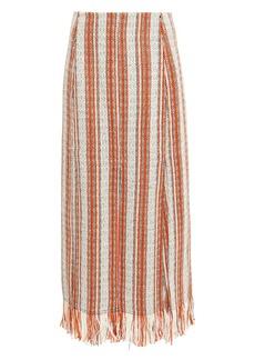 3.1 Phillip Lim Fringed Berber Skirt