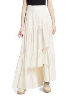 3.1 Phillip Lim Full Tiered Maxi Skirt