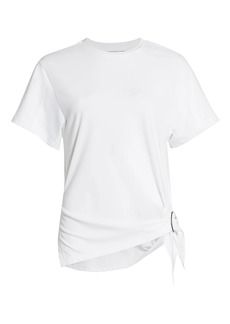 3.1 Phillip Lim Gathered Ring T-Shirt