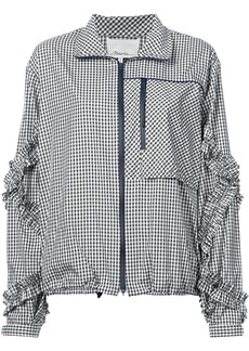 3.1 Phillip Lim gingham bomber jacket