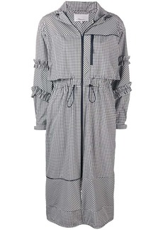 3.1 Phillip Lim gingham print coat