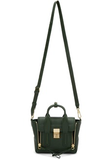 3.1 Phillip Lim Green Mini Pashli Satchel