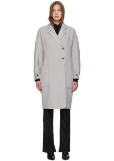 3.1 Phillip Lim Grey Merino Series Oversized Coat